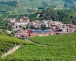 Town of Barolo Piedmont Italy