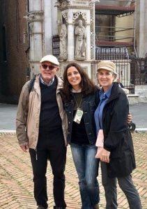 Man Woman Tour Guide Siena Italy