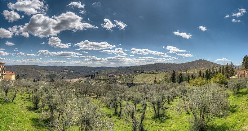 The Beautiful Chianti Region