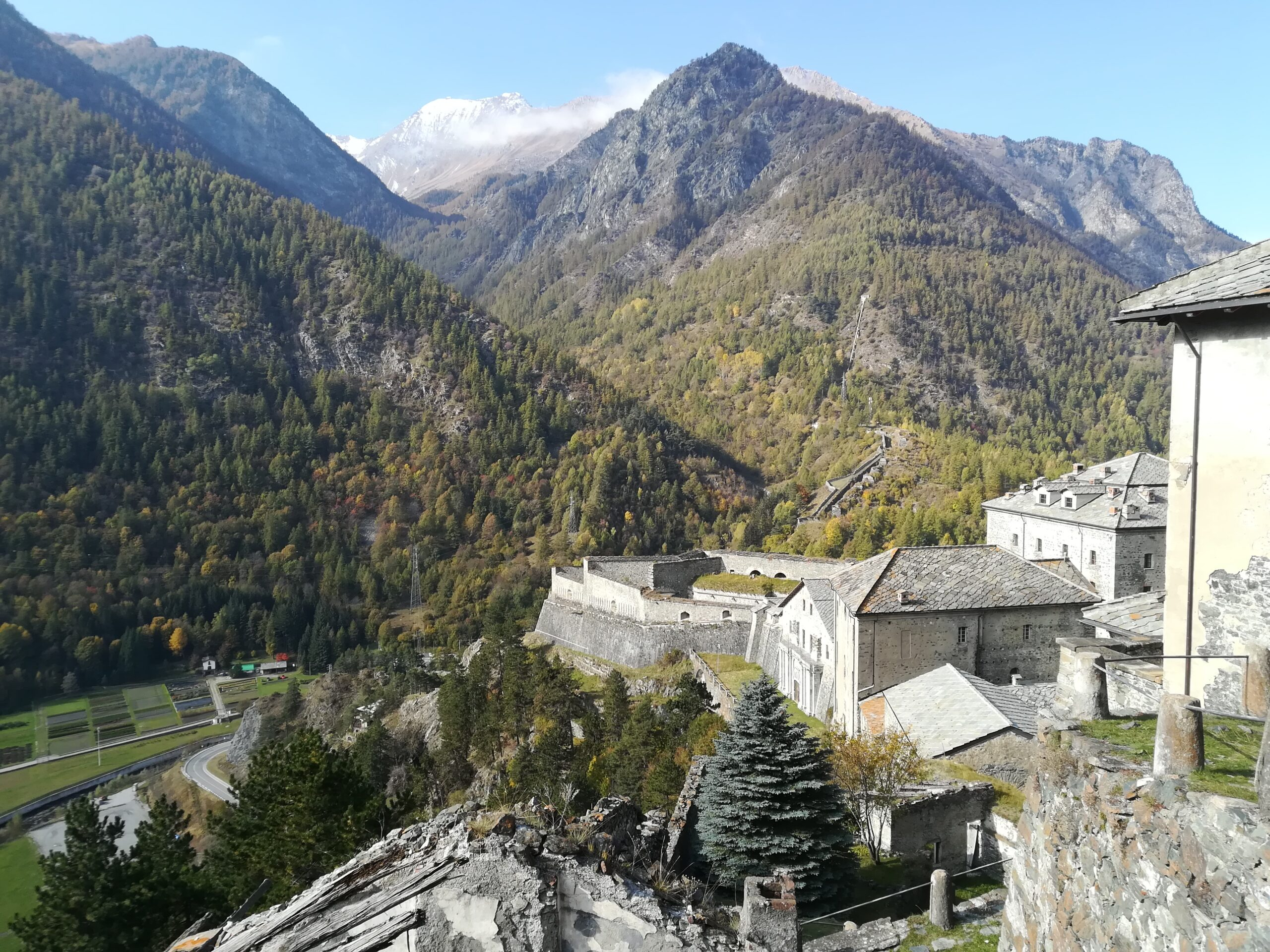 View from Forte di Finestrelle