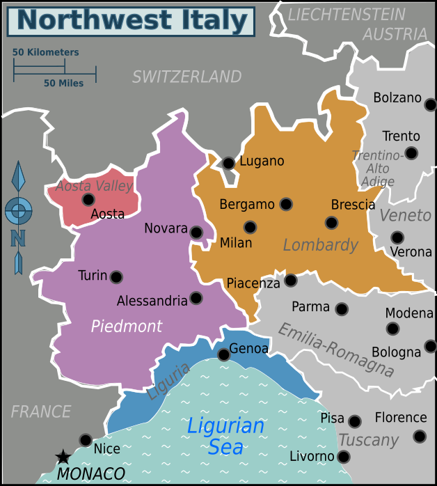 North west Italy